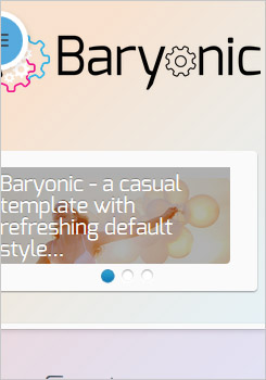 Baryonic Template